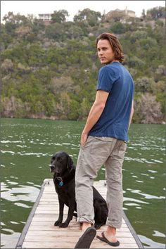 Taylor Kitsch as Tim Riggins in Friday Night Lights Taylor Kitsch, Beautiful Men, Beautiful People, Tim Riggins, Outside Magazine, Friday Night Lights, Good Looking Men, Famous Faces, My Man