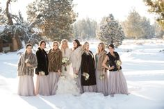 Wedding Day Stoles That Will Steal Your Winter Heart   orbridemag.com   Kimberly Kay Photography