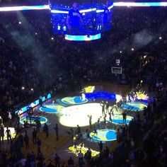 Game time! #warriors #dubnation