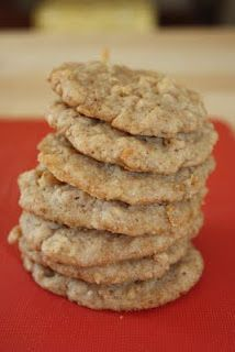 Rice Krispy Cookies, like Chocolate Chip without the Chocolate.. Might be worth a try (at least once)