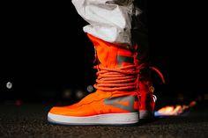 """newest 44b9a 5b85f An On-Feet Look at Nikes SF-AF1 High """"Total Orange"""""""
