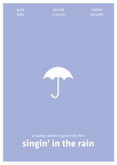 Minimal Movie Posters #3 by Arden Avett, via Behance