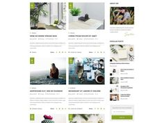 Arimo WordPress Theme Blog Theme Premade Blog Themes | Etsy