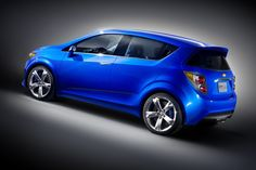 Blue chevrolet aveo rs concept 2013 - Car HD Wallpaper