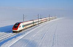 SBB RABDe 500 036 at Essert-Pittet — Train