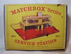 0ld mathbox gas station | ... about MATCHBOX LESNEY SERVICE STATION GARAGE ESSO GAS PUMPS SIGN