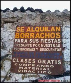 El Mundo De Los Borrachos [Humor] by Nelson Pereira: Cursos Intensivos....  Practicas Incluidas.