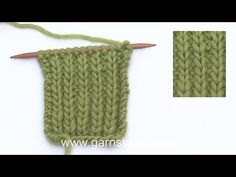 I denne DROPS videoen viser vi hvordan man strikker helpatent uten kast. Denne teknikken gir et tilsvarende resultat som helpatent med kast, men isteden for å... Knitting Videos, Knitting Stitches, Knitting Patterns Free, Free Knitting, Crochet Patterns, Drops Design, Purl Stitch, Edge Stitch, I Cord