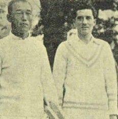 Jiro Sato 1908 - 1934 Japanese tennis player