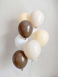 Teddy Bear Baby Shower, Baby Boy Shower, Birthday Party Decorations, Baby Shower Decorations, Filling Balloons, Orange Balloons, Birthday Balloons, Party Ballons, Safari Party
