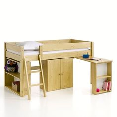 La Redoute online store, FREE Click & Collect for orders over and free returns†. Kid Beds, Bunk Beds, Childrens Cabin Beds, Kids Bed Frames, Solid Pine, Space Saving, Kids Bedroom, Desk, Furniture
