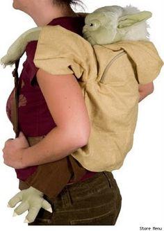 I am Luke Skywalker! Yoda is on my back!