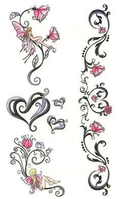 Lovely Heart Tattoo Designs