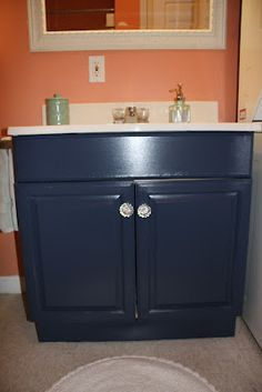 Painting A Laminate Bathroom Vanity DIY Projects Pinterest - Painting bathroom vanity laminate