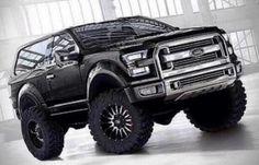 2016 Ford Bronco Concept Constructeur Automobile Jeep Truck Trucks