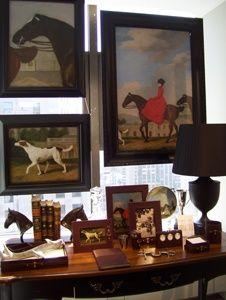www.eyefordesignlfd.blogspot.com Equestrian Chic Interiors