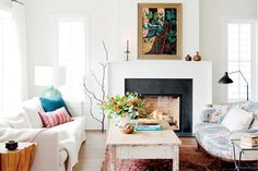 A dazzling home renovation dream team creates a comfy and collected home that is rooted in their histories.