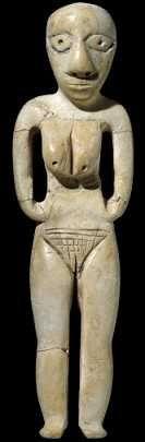 From Badari, Egypt Badarian culture, around 4000 BC, Predynastic period Height: 14 cm