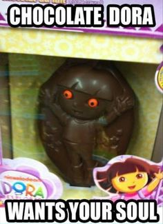Someone help my chocolate is evil and is going to kill me! Please don't hurt me.