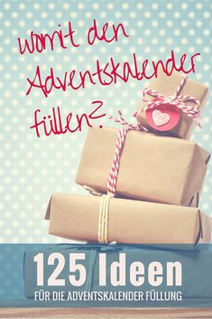 Ultimate list with over 125 ideas to fill an Advent calendar - Diy Gifts Winter Christmas, All Things Christmas, Christmas Presents, Christmas Time, Christmas Thoughts, Advent Calenders, Diy Advent Calendar, Calendar Ideas, Diy Presents