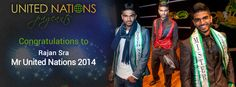 Mr United Nations 2014 is from India