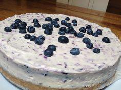 Blueberry Cheesecake www.judithglue.com
