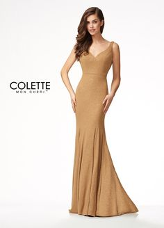 b36d3fa8480 Sexy Fit and Flare Formal Dress - Colette for Mon Cheri - CL17119