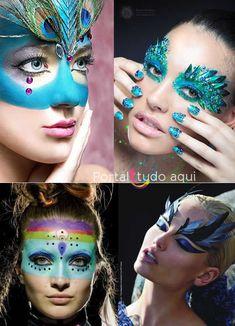 maquiagem-para-carnaval-pintura-mascara-penas                                                                                                                                                      Mais