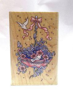 Inkadinkado Wedding Rubber stamp Simply Exquisite  flowers romance birds new #Inkadinkado