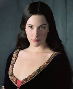 I hate to characterize actors as the characters that they play, but I can't resist Liv Tyler as Arwen in Lord of the Rings. <3