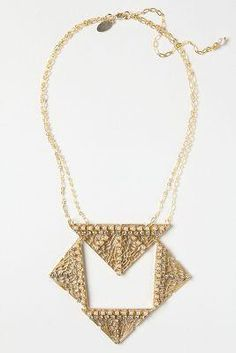 Isis Bib Necklace by...