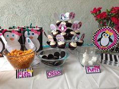 Penguin party snacks !
