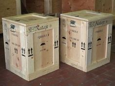 Custom Wooden Fine Art Shipping Crates and Boxes, For Antiques, heirlooms and fragile items. Crating and Shipping built to protect valuable artwork. Crate Bench, Crate Seats, Crate Table, Wooden Diy, Wooden Boxes, Crates For Sale, Arcade, Wooden Shipping Crates, Custom Crates