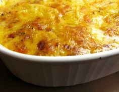 The best au gratin potatoes I have ever had - oozing with cheese and full of flavor.