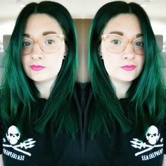 Green Hair Manic Panic Enchanted Forest Envy