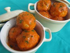 La Juani de Ana Sevilla: Albóndigas de pavo en salsa de tomate