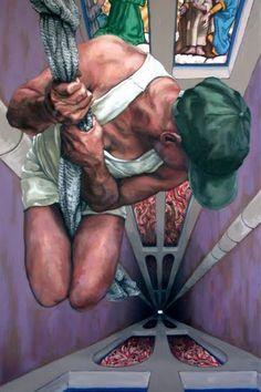 Artodyssey: Harry Emans - great example of strong perspective