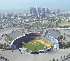 I've seen a few games at Dodger Stadium in LA, including a Giants-Dodgers game on one of my birthdays