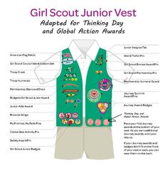 Ever since Girl Scouts USA came out with the rule that the World Thinking Day and Global Action Awards were earned patches that can be placed on the front of a vest, parents and leaders have asked …