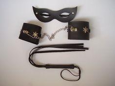 Kit Chicote+Algema+ Máscara