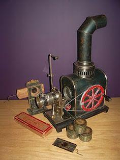 Jean Schoener Kinematoscope rond 1900 - 1905 ~ Cinegraphica