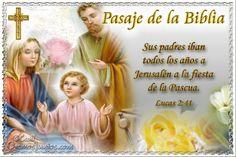 Vidas Santas: Santo Evangelio según san Lucas 2:41