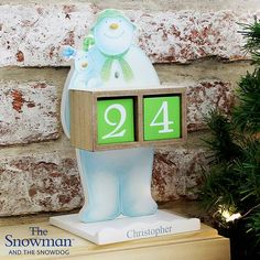 Personalised The Snowman and the Snowdog Advent Calendar. Just one of our The Snowman themed Christmas gift ideas. Visit my store to see the other lovely gift ideas. If you did the Snowdog Ty Hafan trail in last year, you may love the Snowdog gifts. Days To Christmas, Christmas Countdown, Family Christmas, Christmas Themes, Personalised Christmas Decorations, Personalized Christmas Gifts, Snowman And The Snowdog, New Home Presents