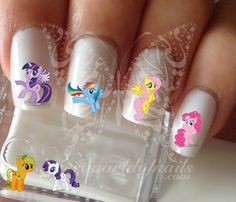 My Little Pony water Decals Transfers Wraps