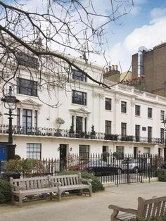 """The town home from the film """"Howards End"""" is at 6 Victoria Square and was recently on the market"""