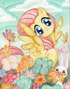 IDW Limited's My Little Pony: Fluttershy                                                                                                                                                                                 More