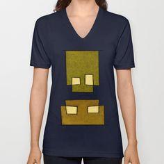 Protoglifo II V-neck T-shirt