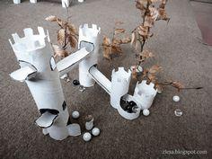 Hradní sešup / Castle marble run