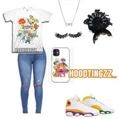 Summer Swag Outfits, Baddie Outfits Casual, Swag Outfits For Girls, Teenage Girl Outfits, Cute Swag Outfits, Cute Comfy Outfits, Teenager Outfits, Dope Outfits, Teen Fashion Outfits