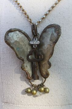 Vintage Butterfly of Brass